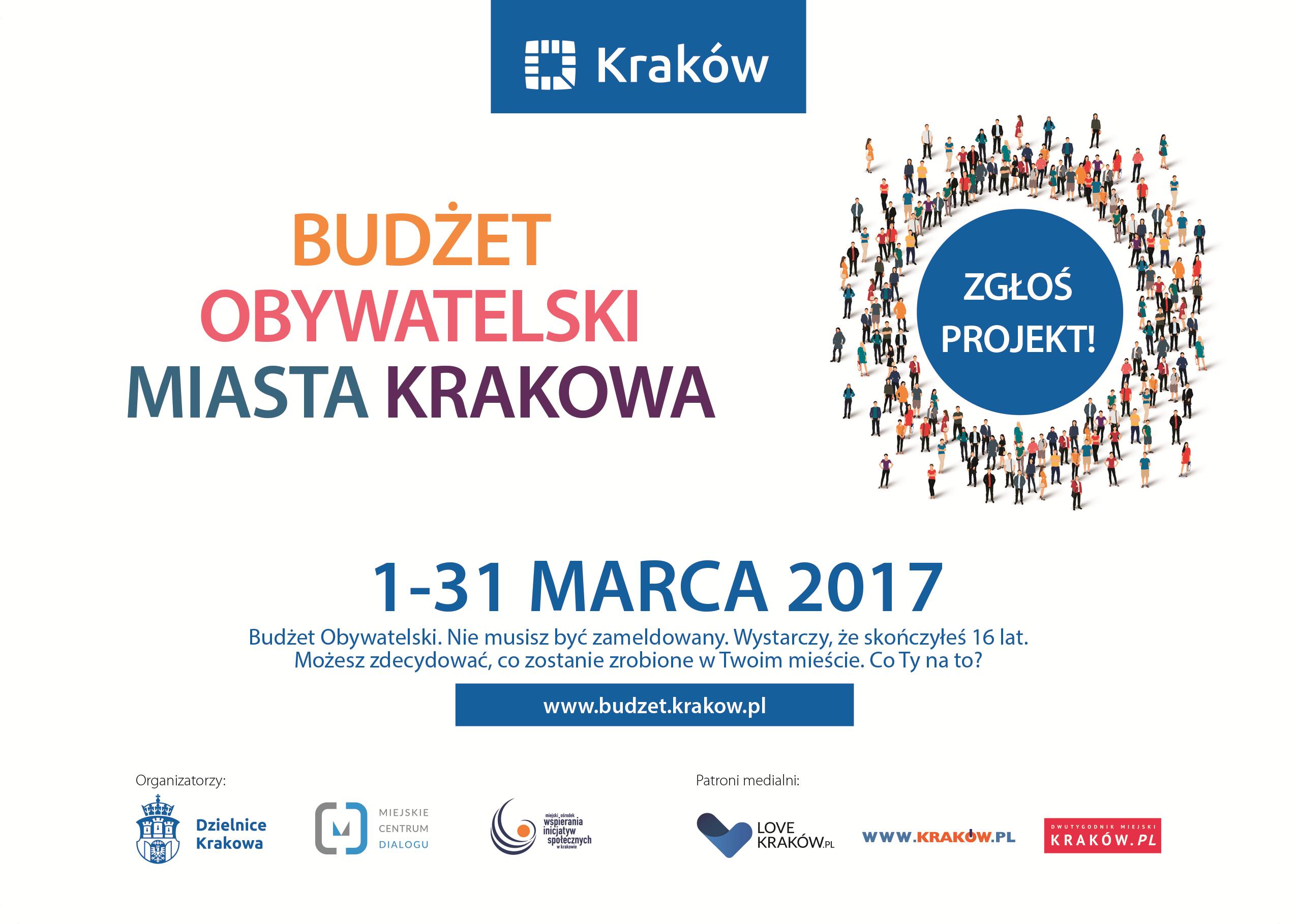 Ogólnomiejskie spotkania w sprawie Budżet Obywatelskiego