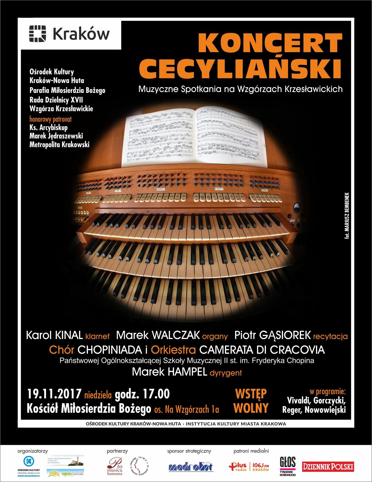 Muzyczne Spotkania na Wzgórzach Krzesławickich – Koncert Cecyliański